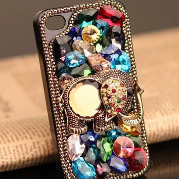 Custom Handmade Vintage Iphone Case iPhone 4/4s Case by alec8211