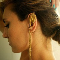 Feather Earcuff - ACCESSORIES - Shop Online