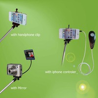 Self portrait Handheld Monopod W/ iPhone 4 4s Shutter Controller [GDT600] - &amp;#36;16.90 : egoodeal, online shopping for wholesale electronics