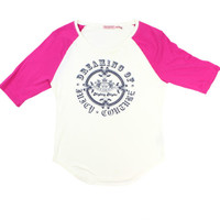 Juicy Couture Baseball Sleep Top – Misses Medium