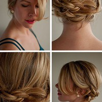 Hair Romance: 30 Days of Twist & Pin Hairstyles – Day 6