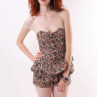 Garden Ruffle Romper - Cute Rompers at Pinkice.com
