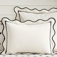 The Emily + Meritt Scallop Duvet Cover + Sham