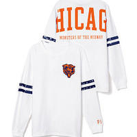 Chicago Bears Bling Varsity Crew - PINK - Victoria's Secret