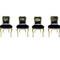 Jimmie Martin God Save The Queen - Seating: Chair - Modenus Catalog