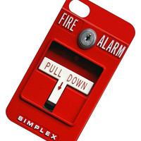 Fire Alarm Iphone 4 Case iPhone cover iPhone 4s by PhatStraps