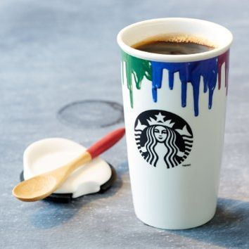 Starbucks Band of Outsiders Limited Double Wall Ceramic