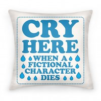 Cry Here When A Fictional Character Dies