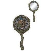Art Nouveau - Peacock Hand Mirror Collectible Decoration Fashion
