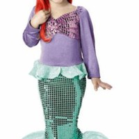 Child&#x27;s Toddler Mermaid Halloween Costume (3-4T)
