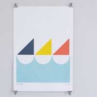 Sailboat Screen Print