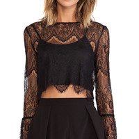 Candela Ariana Top in Black