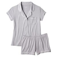 Women's Fluid Knit 2 Piece Pajama Set
