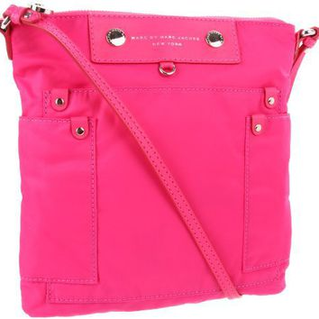 Marc by Marc Jacobs Preppy Nylon Shoulder Bag - designer shoes, handbags, jewelry, watches, and fashion accessories | endless.com