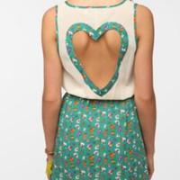 UrbanOutfitters.com > Reverse Heart-Back Cutout Dress