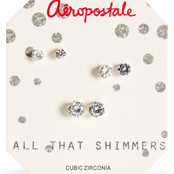 All That Shimmers Stud Earring