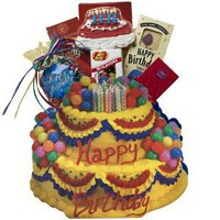 Art of Appreciation Gift Baskets Happy Birthday Gift Bag Tote of Snacks and Treats