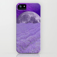 LAVENDER MOON iPhone & iPod Case by Catspaws   Society6