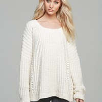 Elizabeth and James Pullover - Textured Boxy