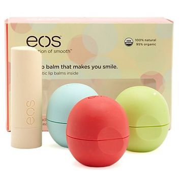 EOS ALL NATURAL LIP BALMS  4 PACK