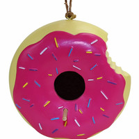 The Donut Birdhouse
