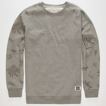 Ambig National Mens Sweatshirt Heather Grey  In Sizes