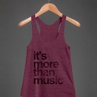MORE THAN MUSIC TANK