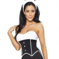 3 PC Sexy Bunny Costume @ Amiclubwear costume Online Store,sexy costume,women's costume,christmas costumes,adult christmas costumes,santa claus costumes,fancy dress costumes,halloween costumes,halloween costume ideas,pirate costume,dance costume,costumes