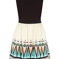 Dresses | Multi Deco Tribal Dress | Oasis