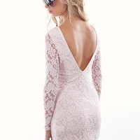 Motel Damita Dress | Lace Open Back Dress | MessesOfDresses.com