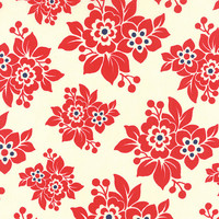 Milk Cow Kitchen by Mary Jane for Moda Fabrics, yardage, strawberry jam