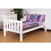 Canwood Furniture 2301-1 Alpine II Twin Bed in White