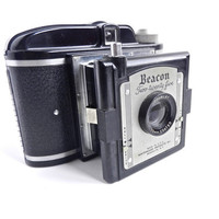 Beacon Two Twenty Five Camera  Black Vintage by MaejeanVINTAGE