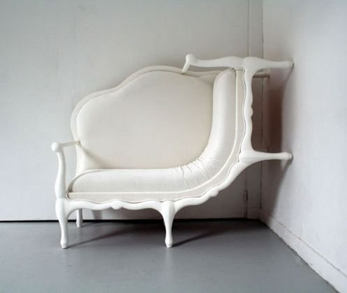 Unusual Wall Climber Sofa
