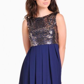 Grace Sequin Top Dress