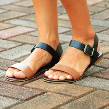 Practically Perfect Sandals BlackCognac