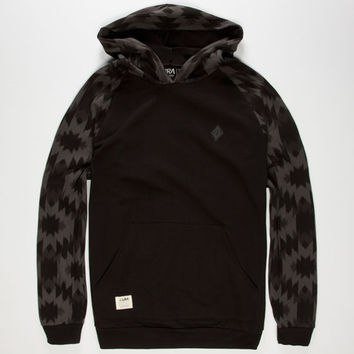 Lira Acid Aztec Mens Hoodie Black  In Sizes