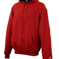 Champion 9.7 oz., 90/10 Cotton Max Pullover Hood VAR YELL/OXF GRY S