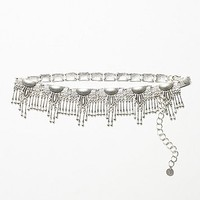 Womens Tiny Dancer Belt - Silver One