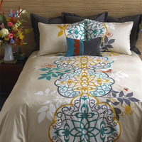 Blissliving Home &#x27;Shangri-La&#x27; 300 Thread Count Duvet Set