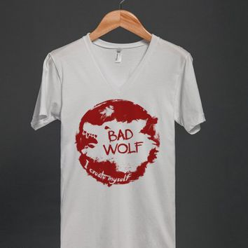 Bad Wolf - I Create Myself - Grunge T Shirt - Many colors and styles to choose from.