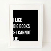 sarcastic quote art print black and white by exlibrispaperdesigns