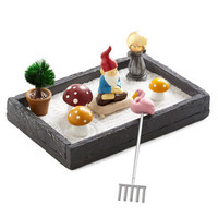 One Hundred 80 Degrees Dorm Decor The More You Gnome Zen Garden