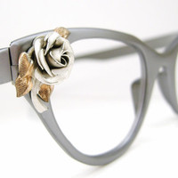 Vintage 50s Tura Cat Eye Eyeglasses Frame by Vintage50sEyewear