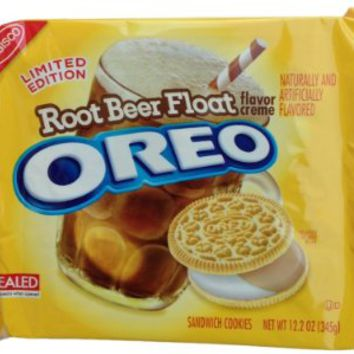 Nabisco Oreo Cookies Root Beer Float 12.2 oz LIMITED EDITION