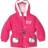 Kids Headquarters Girls 4-6x Hello Kitty Outerwear