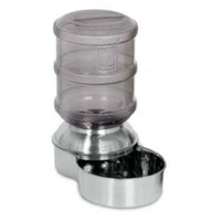 Petmate Stainless Steel Replendish Pet Waterer, Small
