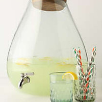 Bubbled Beverage Dispenser by Roost Clear One Size Dinnerware