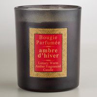 French Warm Amber Candle - World Market