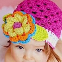 Megan Crochet Children's Hat (3-12 Months+)